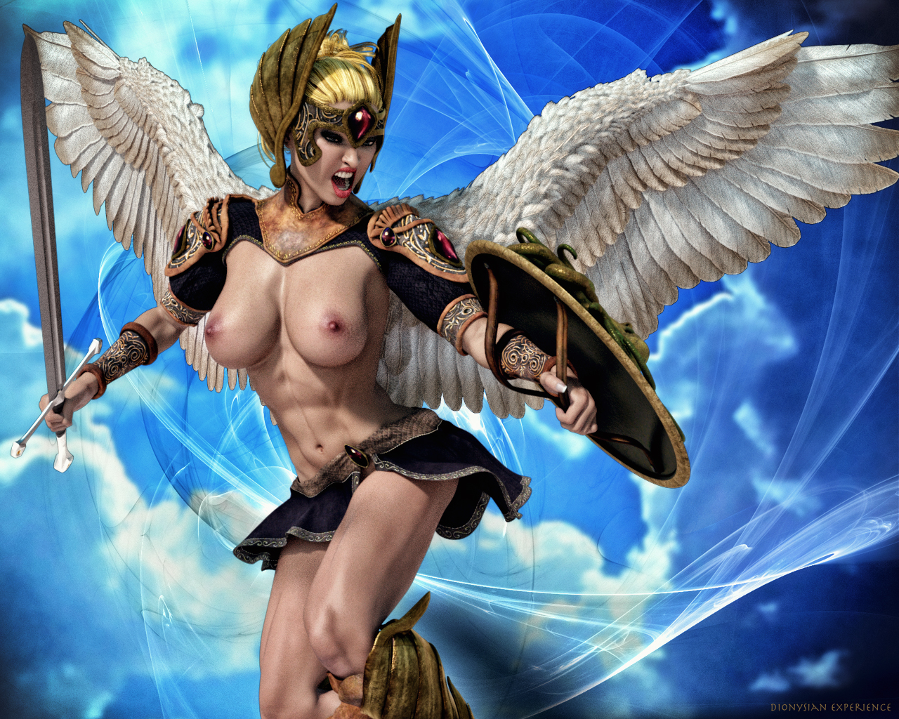 Digital Art – Valkyrie