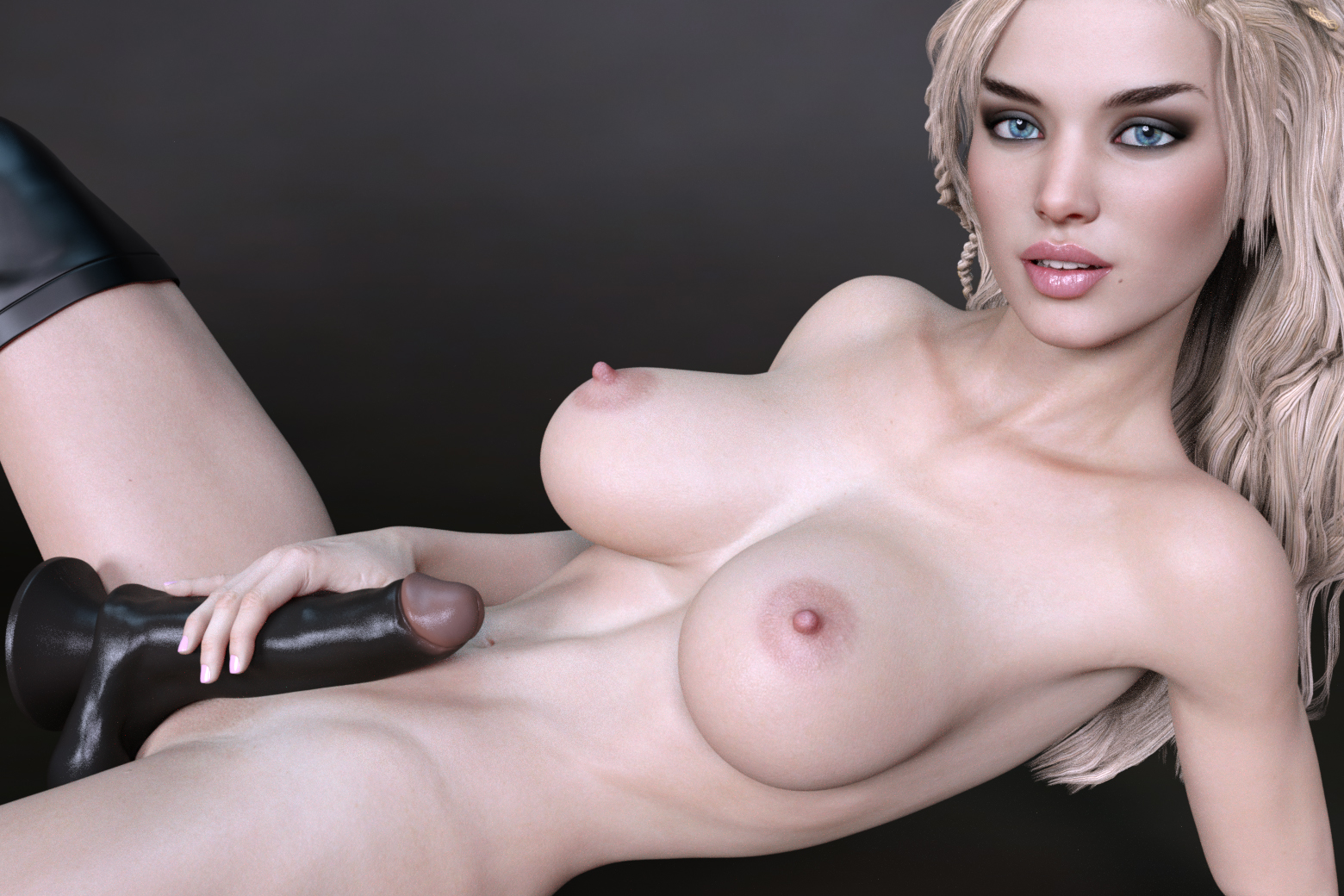 Sienna Reflects on First Big Black Dildo