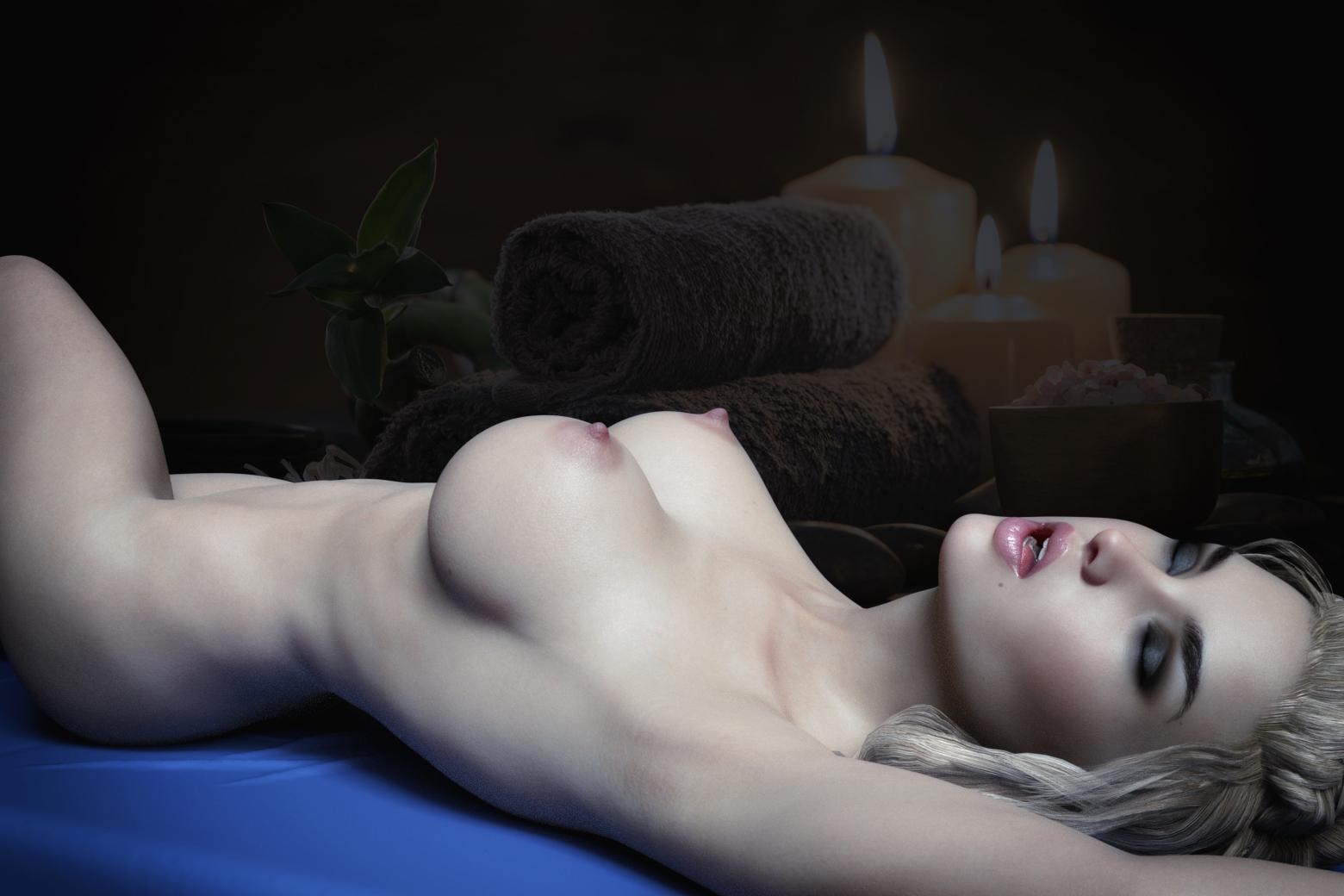 Sienna's Sensual Massage (Part I of III)