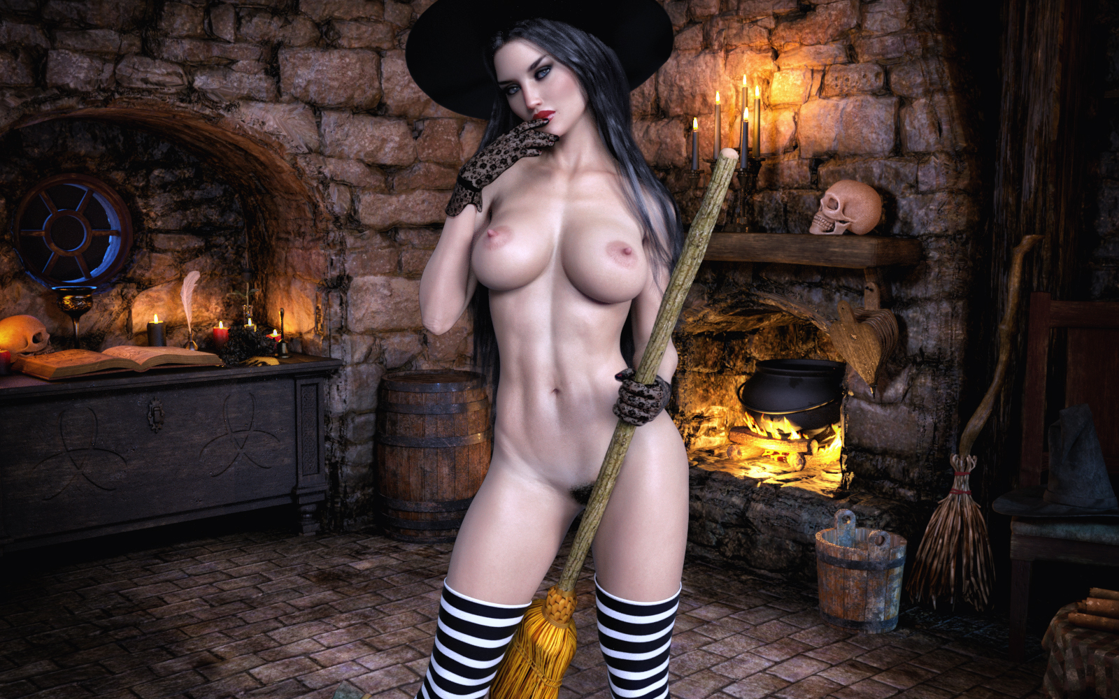 Witches Riding…Brooms?