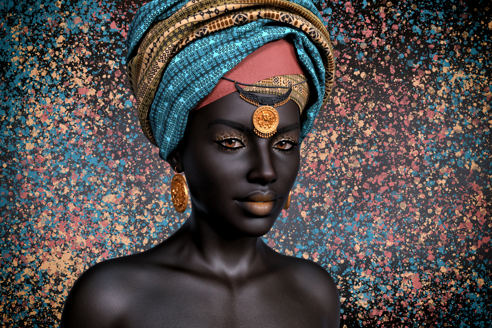 Portrait Gallery (Digital Art)